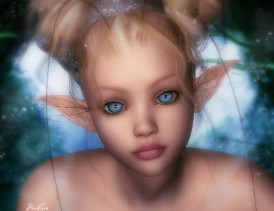 fairy or elf or pixie? You choose.
