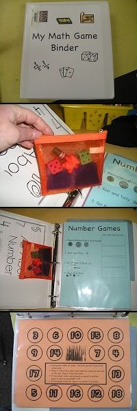 This teacher has been using Daily 5 Math for two years. She has some good ideas that could be adapted to most grades. Find out how she uses her color coded Math Game Binders.