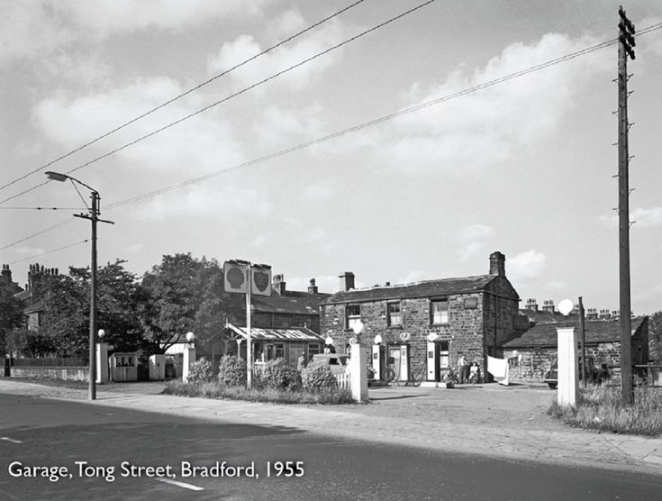 Tong st, Bradford 1955