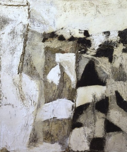 plaster and sacking 1956 . by sandra blow . (1925 - 2006)