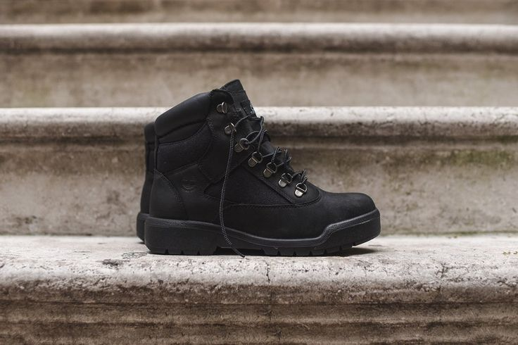 "Timberland Field Boot 6"" WP - Black"