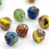 Baroque Czech Glass Beads from Eureka Crystal Beads