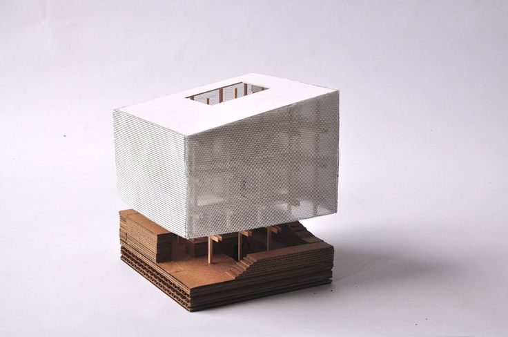 Nest We Grow - Kengo Kuma, architectural model, maquette, model