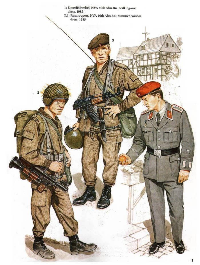 East German Airborne Troops