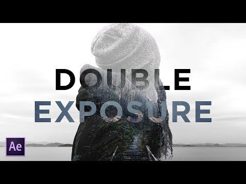 Create Beautiful Double Exposure with Titles | After Effects Tutorial - YouTube