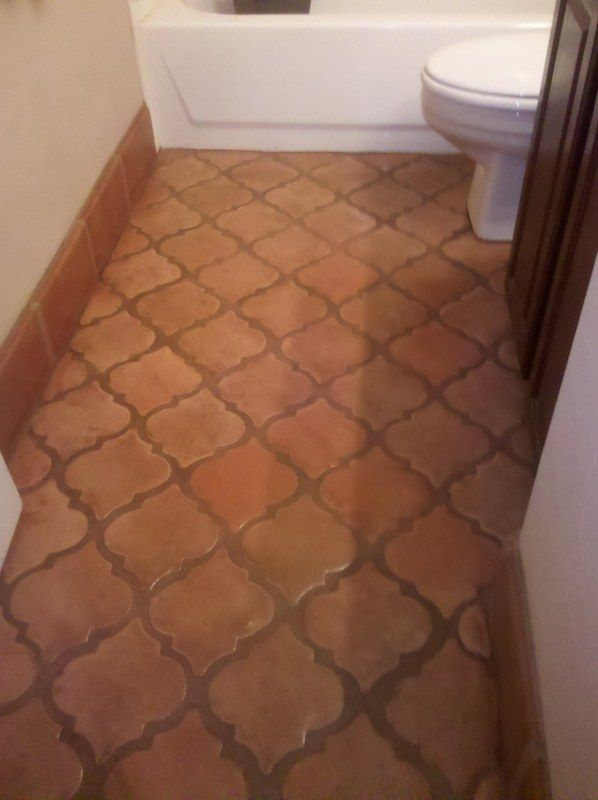 Saltillo tile saltillo tile best mexican tile in az for Spanish style floor tiles