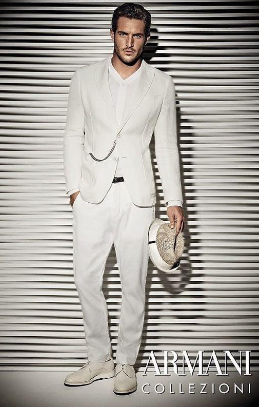Men's fashion :: Armani Collezioni S/S 2014