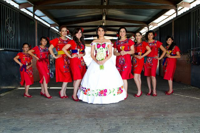 Mind Blowing Traditional Wedding Dresses Around The World: We Loved This Traditional Mexican Themed Wedding