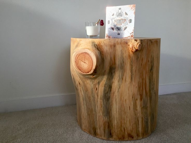 This cute stump table needs a loving home, so if you're in need of somewhere to rest your latte, or your bedtime reading, this could be it!   Bought to you by the team at Interior Groove.