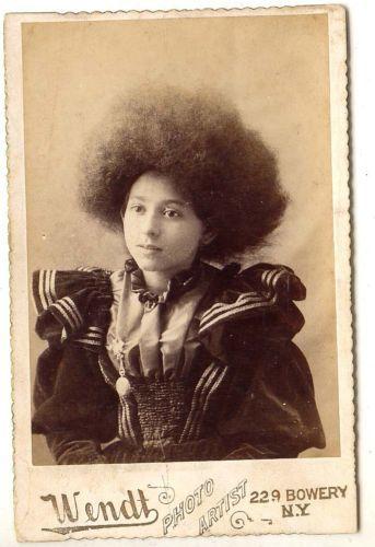 Hair Photo 2 Young Circassian Girl Frieda Moritz By