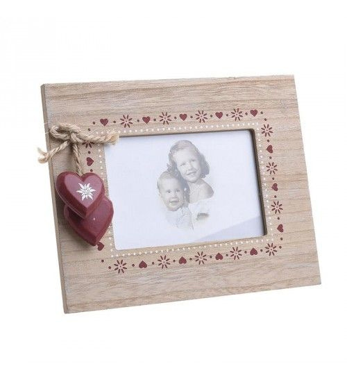 WOODEN PHOTO FRAME IN NATURAL 13Χ9