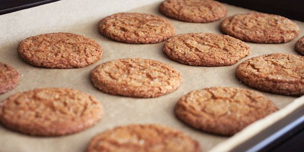 Gluten-Free Ginger Cookies - Rethink Simple #gluten-free #cookies #ginger