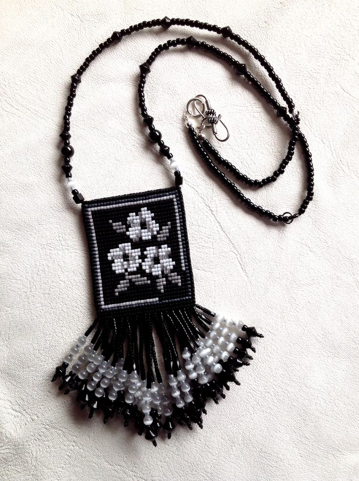 My preferred side of reversible, adjustable-length necklace, 2013.