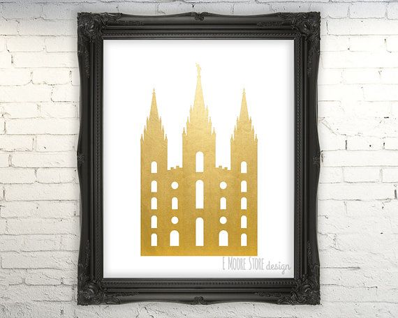 80% OFF LDS Salt Lake City Temple- Instant Download, lds printable, Young Women Relief Society Print Salt Lake City Temple Print, SLC Temple