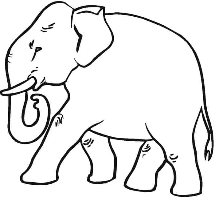 Elephant Coloring Pages 2020 Elephant Coloring Page Elephant