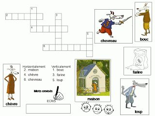 Maternelle: Le loup, la chèvre et les sept chevreaux, exploitation en lecture (illustrations Geoffroy de Pennart)
