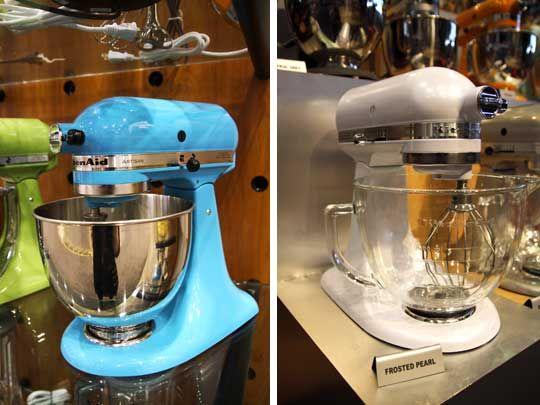 Kitchenaid's new colors.Blue Mixer, Appliances, Kitchenaid Debut, Newest Colors, Frostings Pearls, Kitchenaid Colors, Kitchenaid Blue, Debut Newest, Crystals Blue