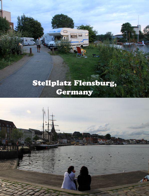 Campingstop / Stellplatz Flensburg, Germany