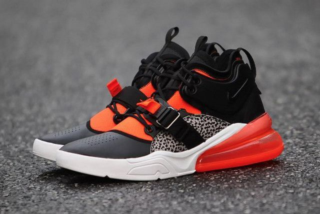 "6166597042 The Nike Air Force 270 ""Safari"" Is Popping With Color 