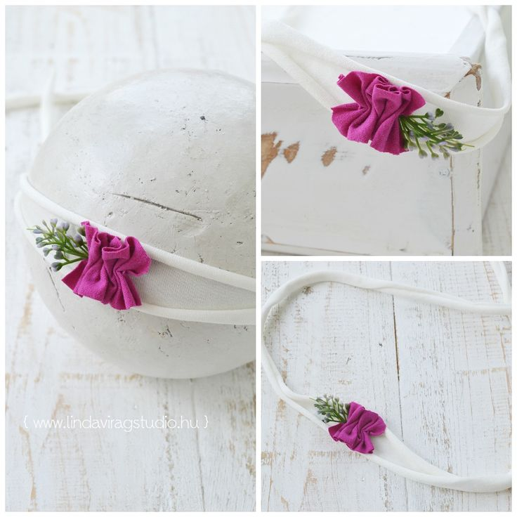 #pink #baby #headband #photography #flowers