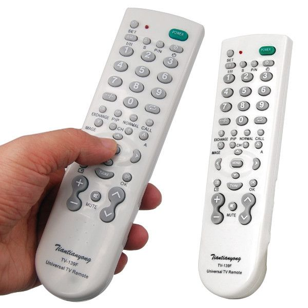 1pcs Portable Super Version Universal TV Remote Control Controller For TV Television wholesale Dropshipping