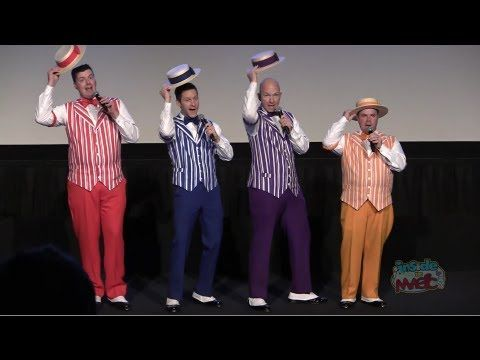 Dapper Dans sing boy bands Full Version One Direction, Backstreet Boys for Disney World Limited Time Magic