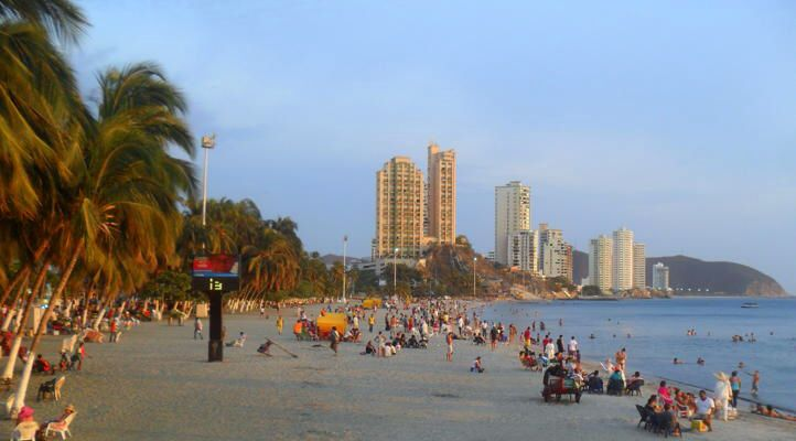 Playa Rodadero // Santa Martha // Colombia