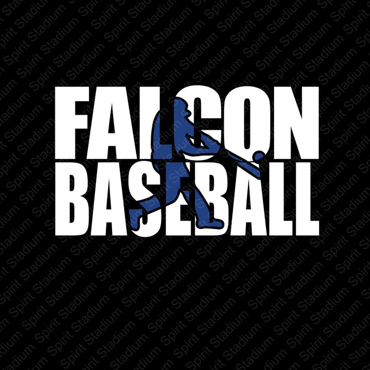 Falcon Baseball T-Shirt - Custom Team School Spirit Shirt - You Choose Your School Colors by SpiritStadium on Etsy