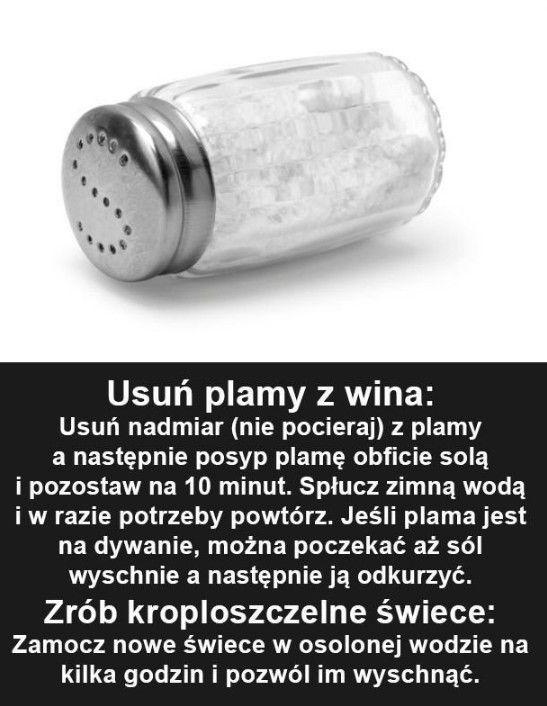 Sposób na usunięcie plam z wina