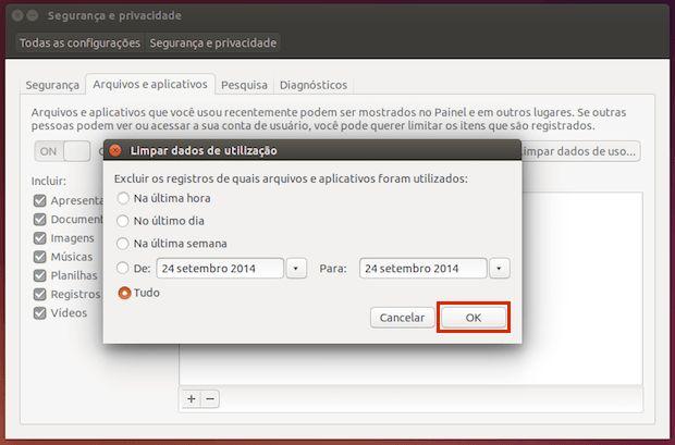 Se você está precisando apagar o histórico de arquivos abertos recentemente no Ubuntu veja aqui como fazer isso.  Recursos como o histórico de arquivos abertos recentemente geralmente são bastante úteis mas quando esse tipo de funcionalidades começa a comprometer a sua privacidade (quando aparecem na pesquisa do Dash por exemplo) o melhor a fazer é apagar esse histórico e até desativar o registro.  Leia o restante do texto Como apagar o histórico de arquivos abertos recentemente no Ubuntu…