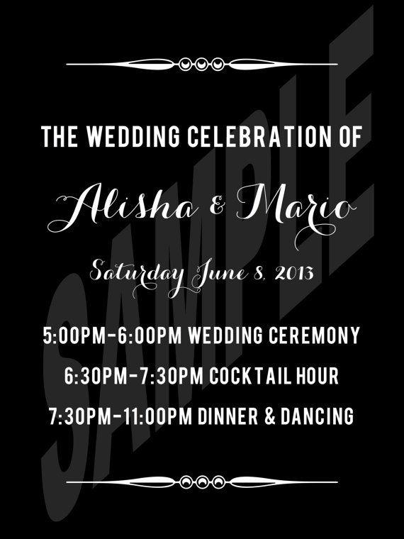 #Modern and #Elegant #Wedding Welcome Sign by WeddingsByJamie on Etsy