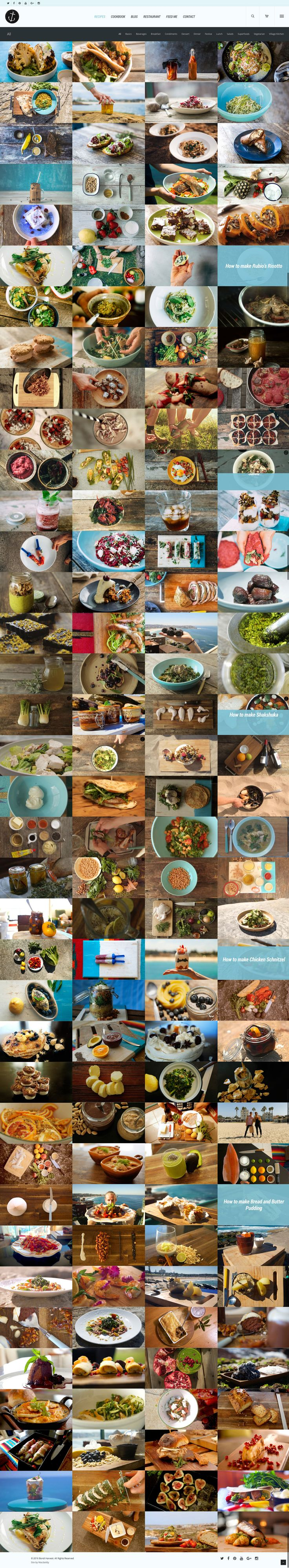 Bondi Harvest website by KORE (http://kore.digital/). The home of food porn. Recipe page