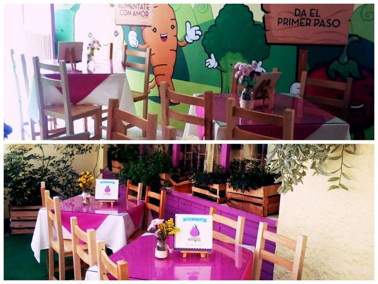 Ambiente Picnic y Salon Interno #MenuViejo2013