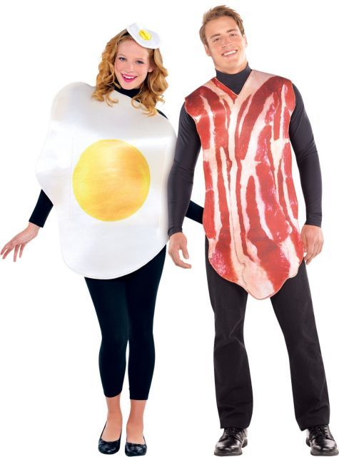 Adult Bacon and Egg Costume - Party City