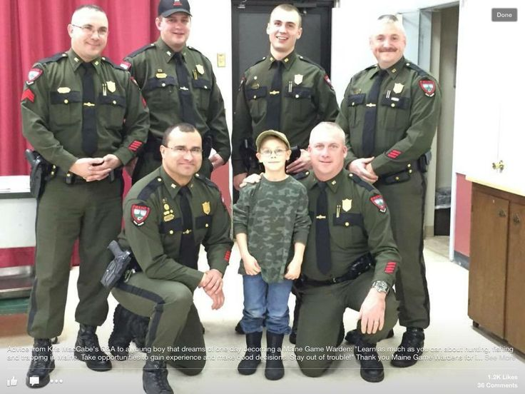 maine game wardens meet and greet in grey