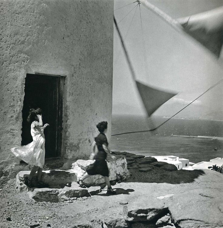 | ♕ | {vintage photo} Greece, 1952 by Ernst Hass via undr | luzfosca | huamao This has such a Suddenly Last Summer vibe to it for me