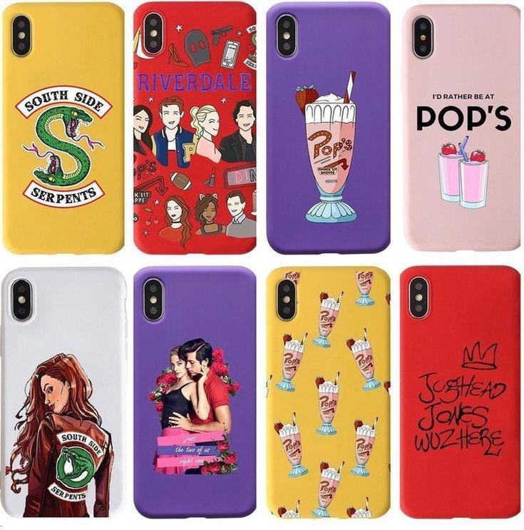 Pop's Milkshake Pattern Riverdale Phone Case Riverdale