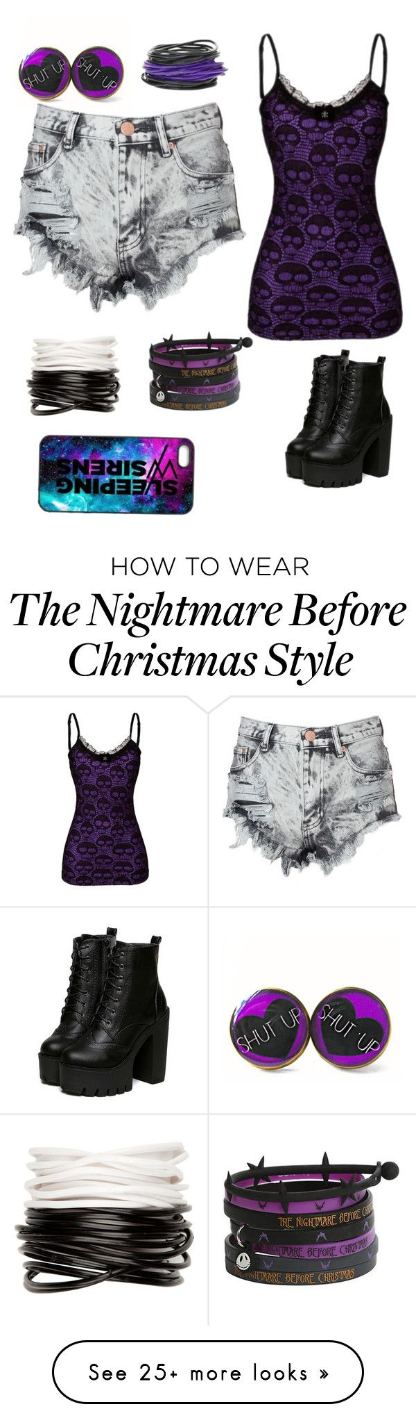 """""""Untitled #91"""" by kittycatdayana on Polyvore featuring CO, Full Tilt and Glamorous"""
