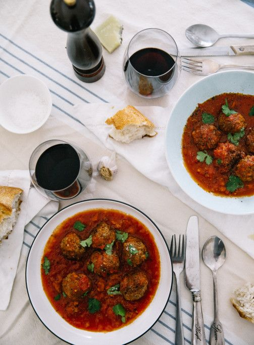 Spanish Meatballs in a Chorizo & Tomato Sauce | What To Cook