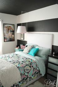 *Pink Postcard*: modern and colorful teen bedroom