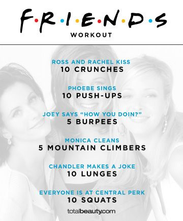 Get your TV fix and a smoking body, thanks to these show-inspired workouts