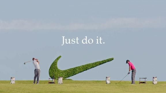 nike ads | ... rory mcilroy stars in his first nike ad with tiger woods tags nike ad
