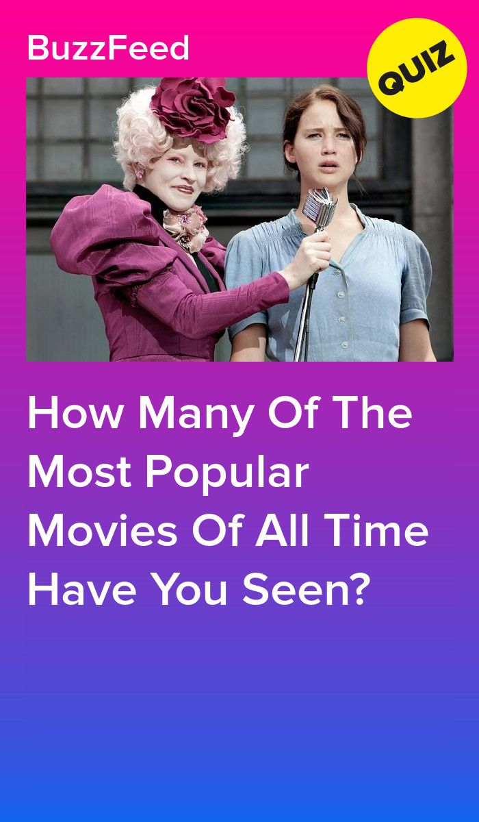 How Many Of The Most Popular Movies Of All Time Have You Seen Quizzes Funny Movie Quiz Most Popular Movies