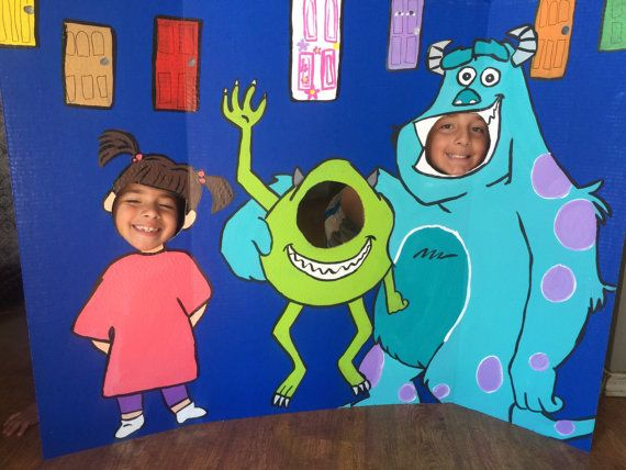 Monsters Inc Party Monsters Inc Birthday Monsters by CreativChick