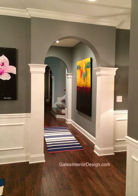 10 ideas about archway decor on pinterest hallway for Decorative archway mouldings