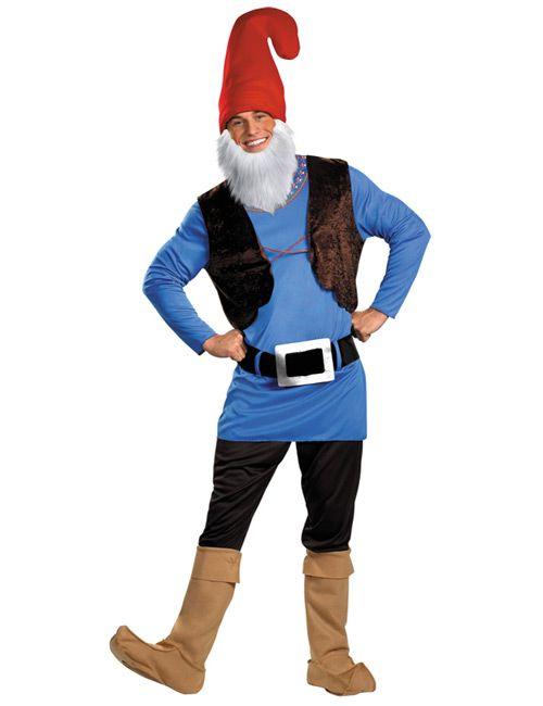 Zwerg Märchen Herren Kostüm blau-rot - Artikelnummer: 572400000