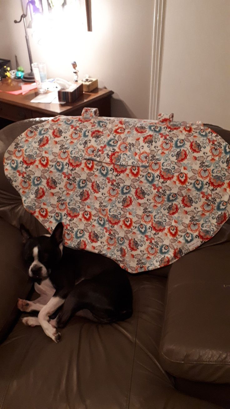 Carseat cover made by this baker sews. For sale for $40