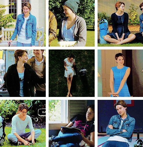 Did anyone else notice that Hazel mostly wore colours that are on the front cover of tfios book?