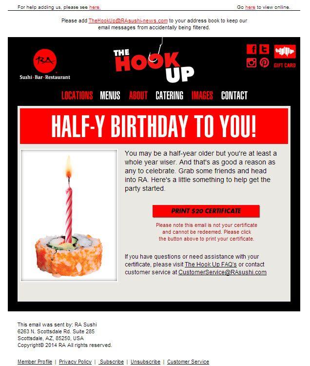The 25 best Happy half birthday ideas on Pinterest Thoughtful