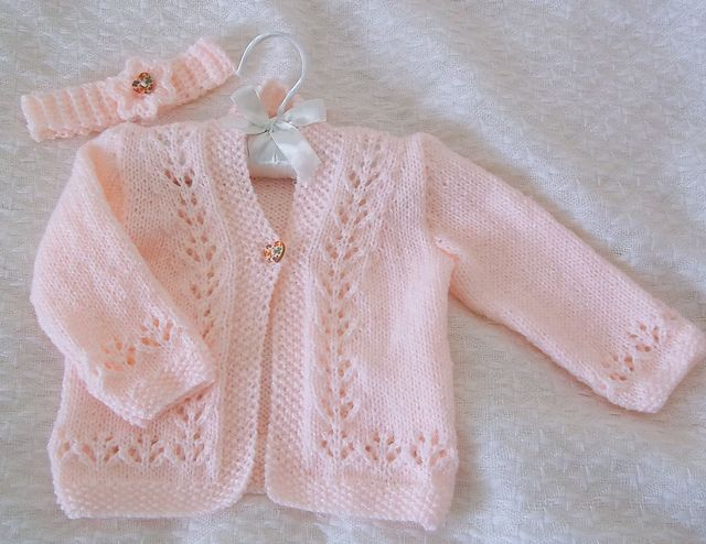 Ravelry: Tipeetoes' Cardigan Set